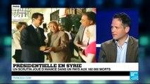 Présidentielle en Syrie : un scrutin joué d'avance dans un pays aux 160 000 morts