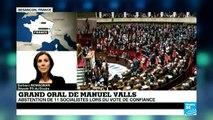 """""""Manuel Valls ne manque pas de talent, mais on ne vote pas pour un acteur de cinéma"""" B. Romagnan"""