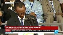 """Génocide rwandais : """"Aucun pays n'est assez puissant pour changer les faits"""" déclare Paul Kagamé"""