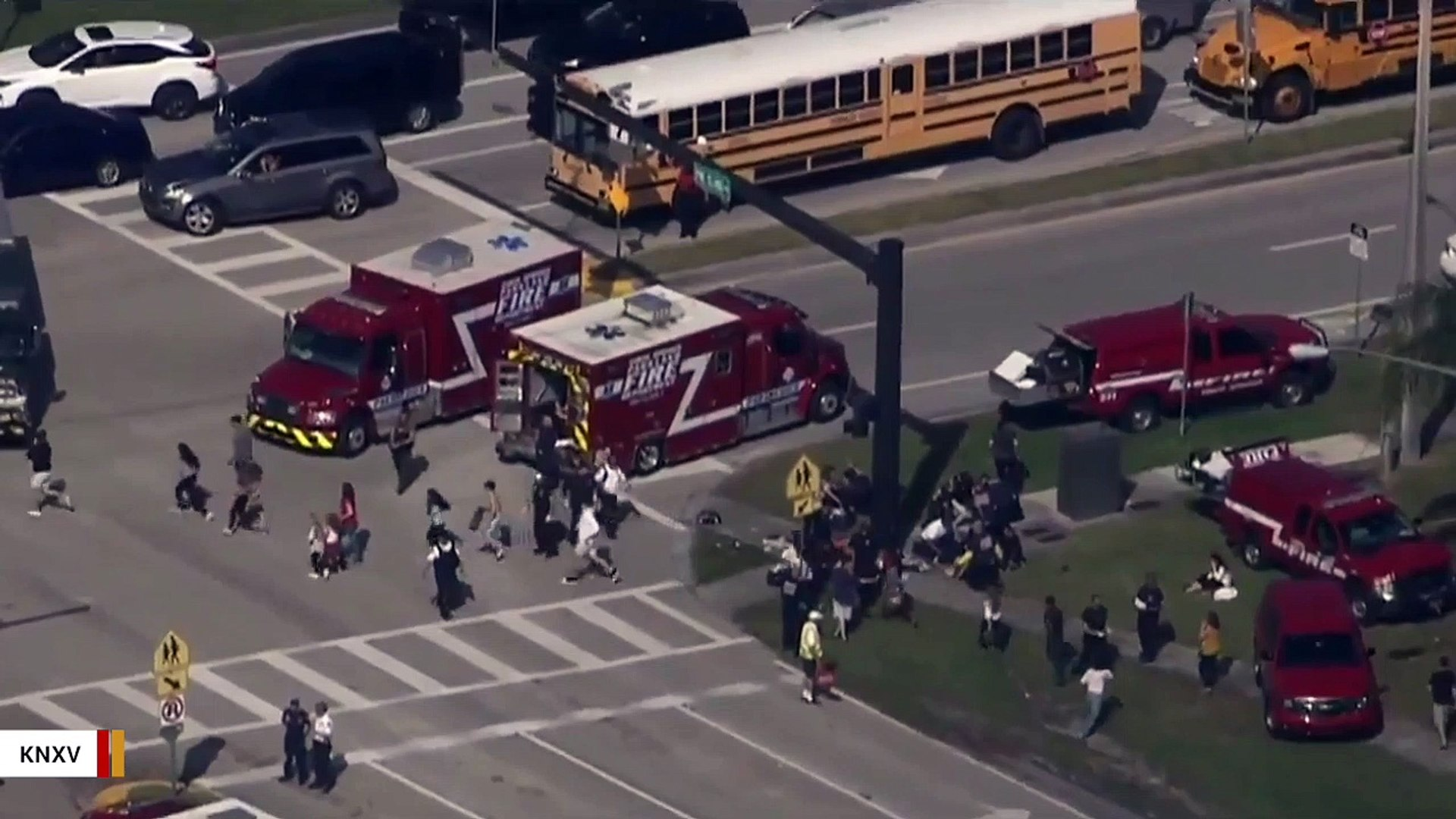 President Trump, Melania Trump Tweet About Florida Shooting