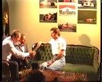 Adriane Galisteu e Ayrton Senna na Hungria 1993 Vídeo Inedito Morte Senna