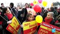 Plusieurs milliers de manifestants anti-avortement ont défilé à Paris