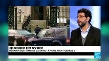 Syrie : réunion à Paris du groupe des Amis de la Syrie - 12/01/2014