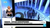 La Grèce préside l'UE, les Grecs tirent le diable par la queue - 08/01/2014 - JT DE L'ÉCO