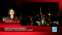 Le déroulement des funérailles de Nelson Mandela