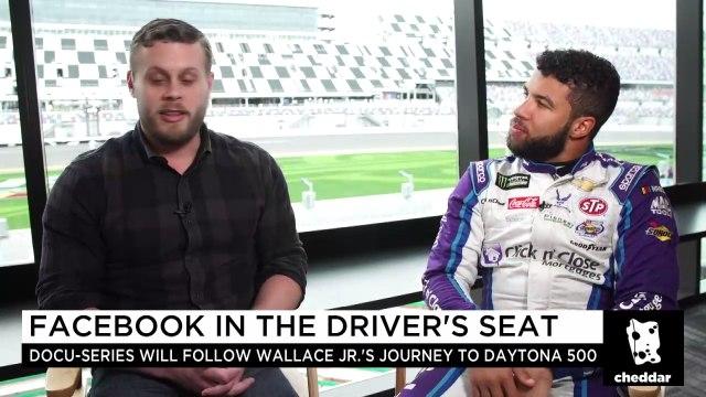 "NASCAR Driver ""Bubba"" Wallace Shares His Social Media Strategy"