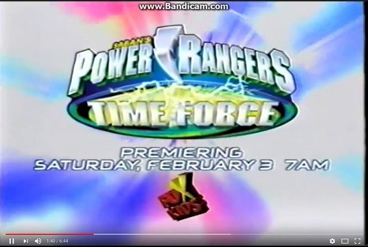 Steamed Hams But It's Every Fox Kids Power rangers Time force Premire Promo