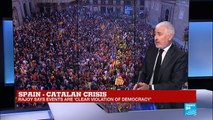 """Catalonia Independence: """"We had the responsibility to proclaim the Catalan Republic"""""""