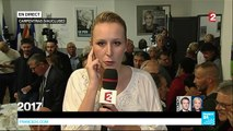 France: Marine Le Pen's Niece Marion Maréchal-Le Pen reacts to the Front National's defeat