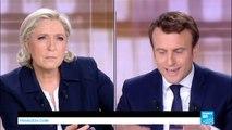 "Emmanuel Macron to Marine Le Pen: ""you are promoting civil war!"""