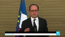 """François Hollande on US missile airstrike: """"The US operation was a response & must now be pursued"""""""
