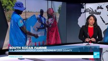 World Food Programme airdrops food rations into South Sudan