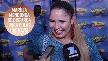 Carnaval 2018: Marília Mendonça curte o carnaval do Rio
