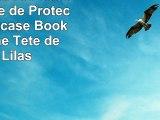 Nokia Lumia 730 Sacoche Housse de Protection Walletcase Bookstyle Crâne Tête de mort Lilas