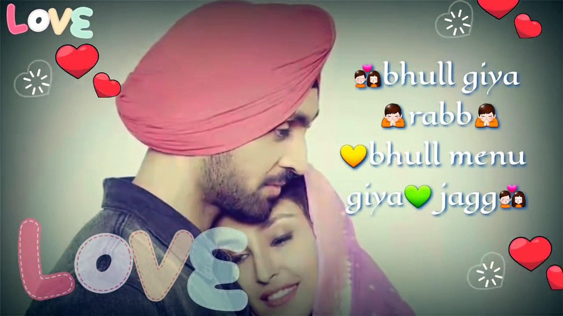 Punjabi Love Song Whatsapp Status