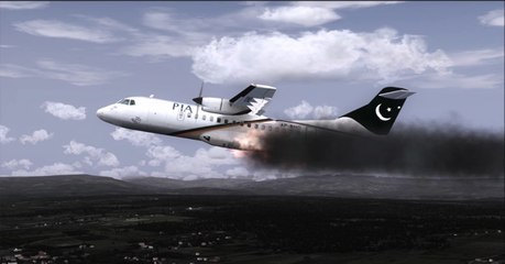 Breaking News: Plane Pakistan Flight 661 PIA ATR 42-500