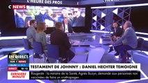 """C News : Daniel Hechter explique comment Laeticia Hallyday """"interceptait tout"""""""