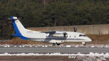 Dornier Do-328 Private Wings D-CATZ - landing and taxiing at Manching Air Base [2160p25]
