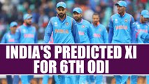 India vs South Africa 6th ODI: India's Predicted XI, Virat Kohli expected to make changes | Oneindia