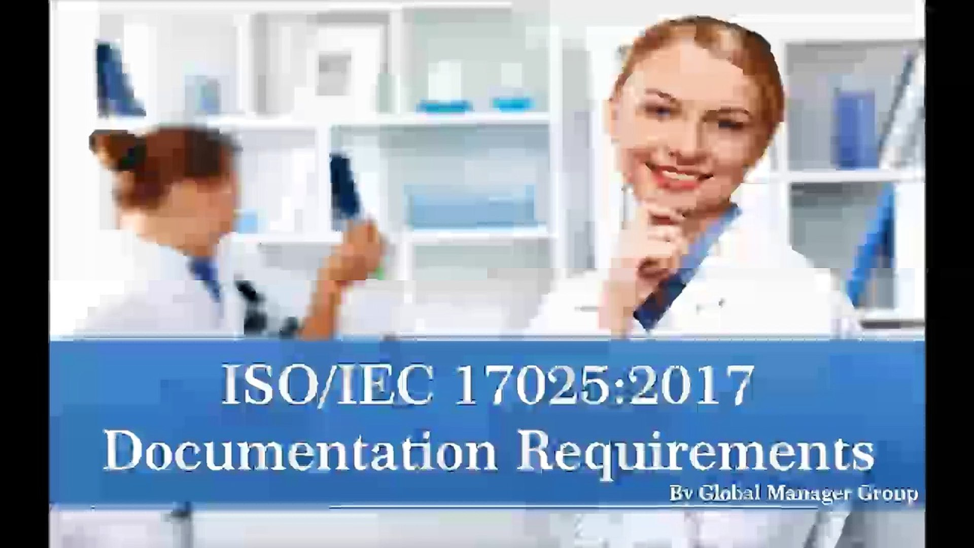Required ISO 17025:2017 Certification