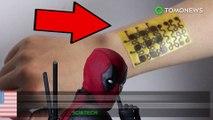 Kulit dapat sembuh sendiri seperti Deadpool, penemuan kulit elektronik - TomoNews