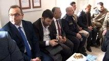 AK Parti Genel Başkan Yardımcı Karacan ve sanatçılar Reyhanlı Jandarma Komutanlığı'nı ziyaret etti