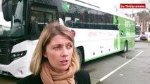 Quimper. Inter-urbain. Expérimentation d'un bus au gaz en Bretagne