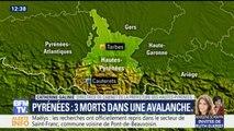 Pyrénées : trois skieurs portés disparus ont été retrouvés morts sous une avalanche