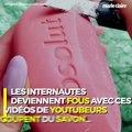 Tendance web : les vidéos de découpes de savon