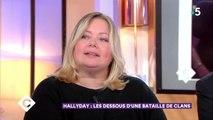"""C à Vous : Sylvie Vartan """"solidaire"""" de la bataille de David et Laeticia pour l'héritage de Johnny Hallyday"""