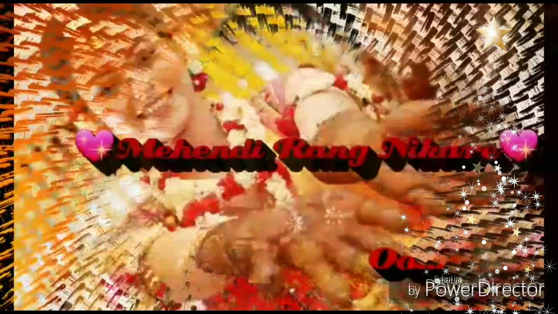 Mehndi Hai Rachnewaali,/new status/shadabalam video create by aaliya/whatsapp romantic song/whatsapp