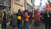 La Roche. Manifestation contre les fermetures de classes en  Vendée.