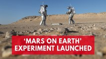 Scientists conduct experiment in Mars Simulation Center in Oman desert