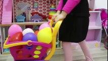 OYUNCAK EJDERHA BALONLARI ÖYKÜDEN KORUYAMADI OYUN Learn Colors With Finger Family Song Nursery Rymes