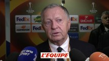 Foot - C3 - OL : Aulas «Un grand match»
