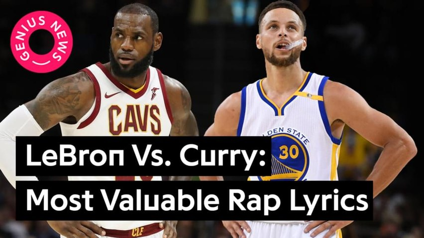 Lebron James Vs. Steph Curry: Most Valuable Lyrical Mentions