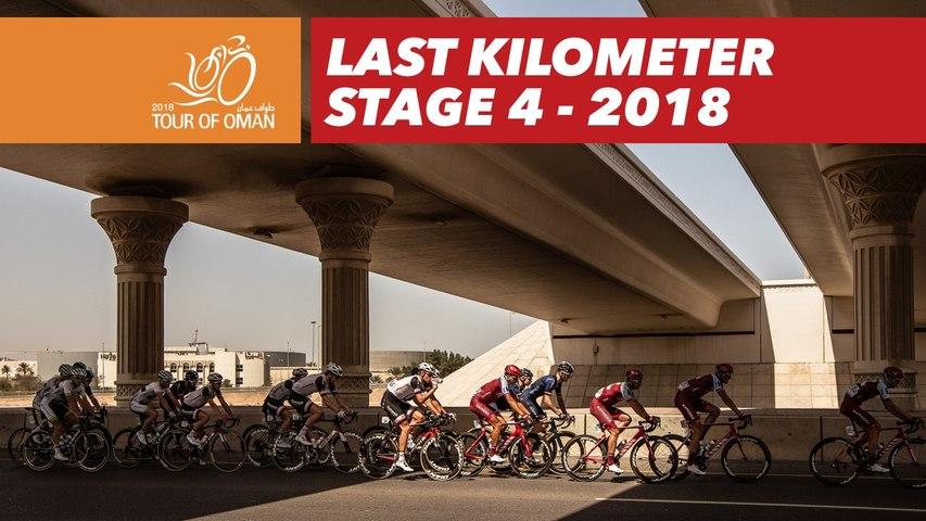 Last kilometer - Stage 4 - Tour of Oman 2018