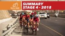 Summary - Stage 4 - Tour of Oman 2018