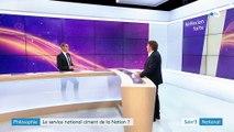 """Michel Eltchaninoff : """"L'idée de Macron, c'est que chaque citoyen ait un temps pour recréer le creuset national"""""""