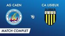 Régional 2 J8 : AG Caen - CA Lisieux