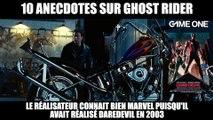10 anecdotes sur Ghost Rider