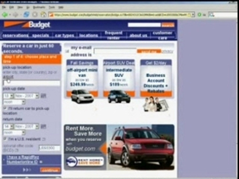 Budget.com Coupons - How to use Budget.com coupons