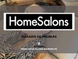 Magasin de meubles, salons et canapés à Bourges, HOME SALONS.