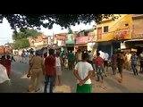 कानपुर में जुलूस को लेकर बवाल पुलिस चौकी में तोड़फोड़ जीप में लगाई आग SP घायल