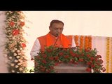 गुजरात कैबिनेट  दूसरी बार सीएम बने रूपाणी II Vijay Rupani takes oath as Gujarat CM
