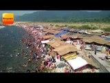 रामनगर के गर्जिया मंदिर में स्नान के लिए पहुंचे हजारों श्रद्धालु