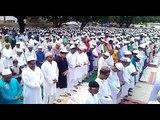 बकरीद पर बाढ़ पीड़ितों और मासूमों के लिए मांगी गई दुआ II Prayer for flood victims in  EID, Gorakhpu
