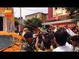 झारखंड दौरा: रांची पहुंचे अमित शाह, बीजेपी नेताओ ने किया शानदार स्वागत