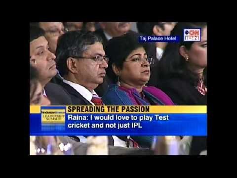 HT Leadership Summit 2012 - Ajay Jadeja, Kapil Dev and Suresh Raina - Part 02