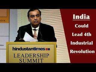 HT Leadership Summit 2017 || Mukesh Ambani on his business philosophy, Jio and India
